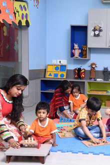 Playgroup, nursery and daycare kolkata