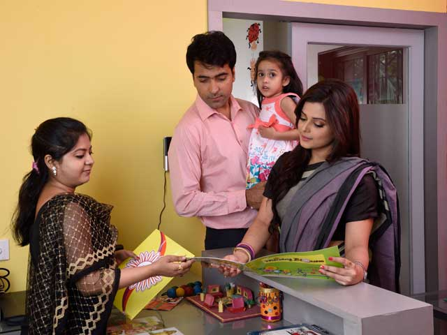 Abir Chatterjee at the School